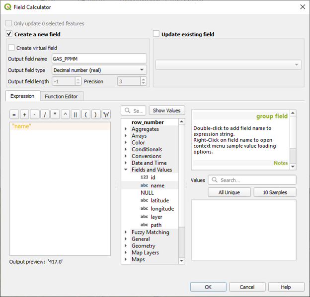 Converting a String Field to a Numerical Field in QGIS