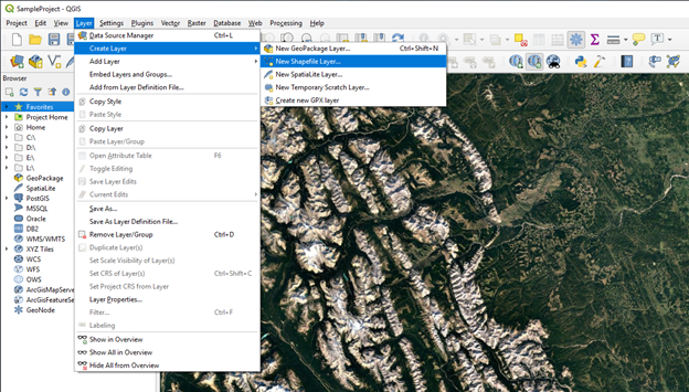 Creating Vector Data in QGIS | Silver Spring Energy Consulting Ltd