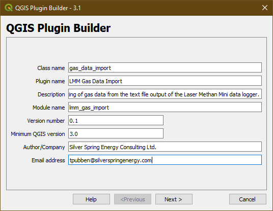 Building Plugin Framework for QGIS 3 x | Silver Spring